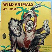 Children's Book:  Wild Animals at Home
