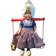 Beautiful Vintage Dovina Dutch Doll