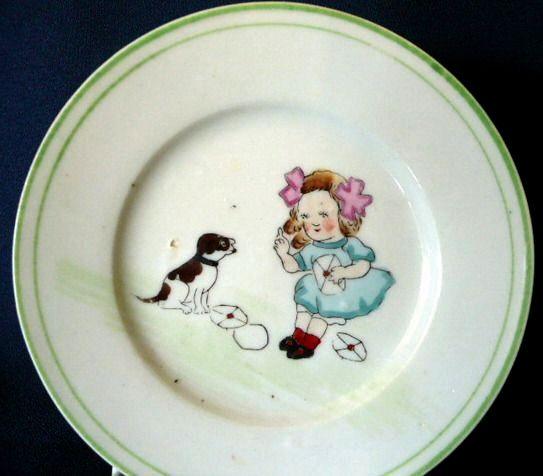 Nippon Child's Plate