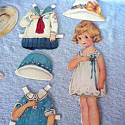 Little Girl Pre-cut Paperdoll