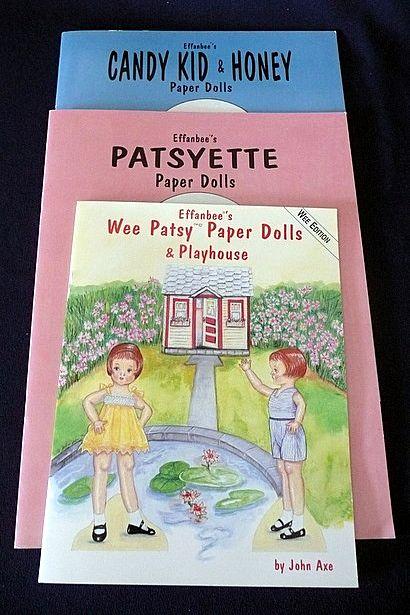 Patsy Paper Doll Books