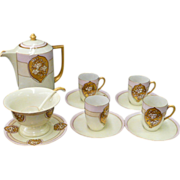 Lovely Hand Painted Art Deco Style China Set