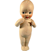 Small Bisque Doll With Movable Arms