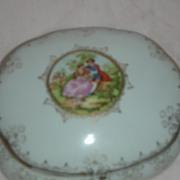 Vintage Vanity Box or Trinket Jar