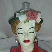 Cameo Girls Eve Tea Party Head Vase