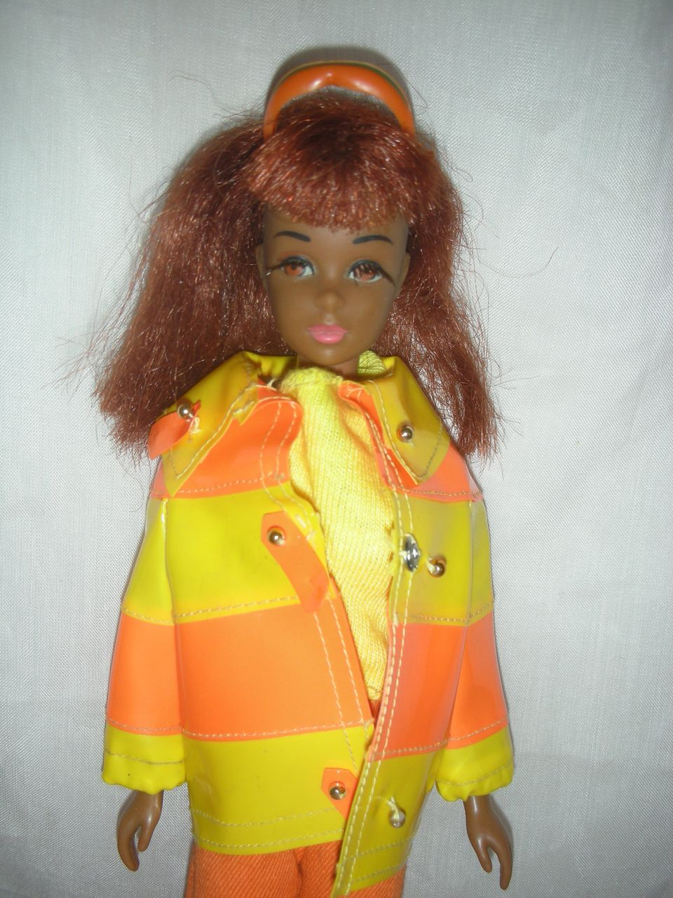 Rare First Edition Ultra Mod Black Francie Doll in Clam Diggers