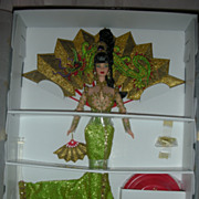 Bob Mackie Fantasy Goddess of Asia Barbie Doll NRFB