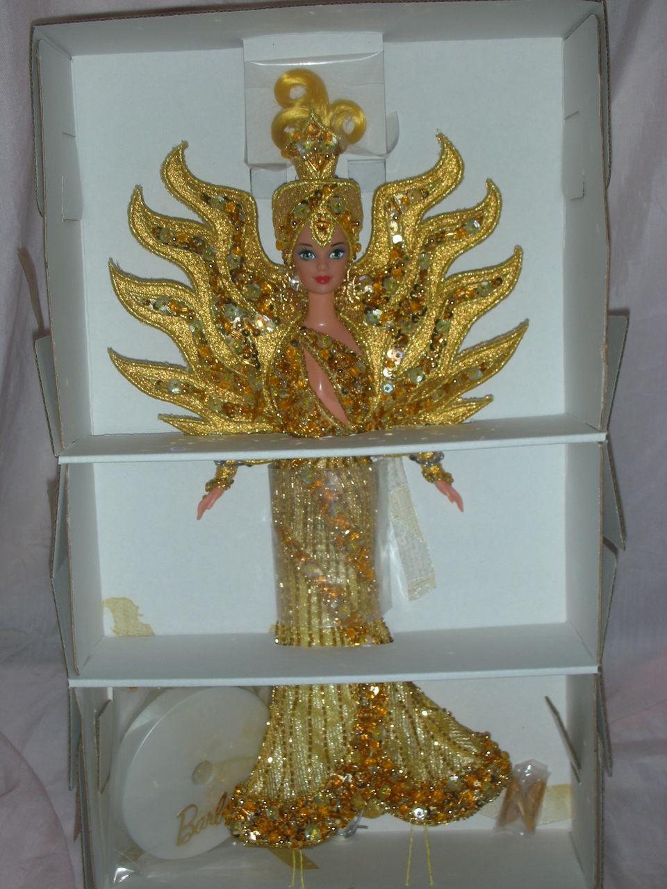 Bob Mackie Goddess of the Sun Barbie Doll NRFB