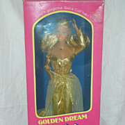 Vintage Superstar Barbie Doll Golden Dream NRFB