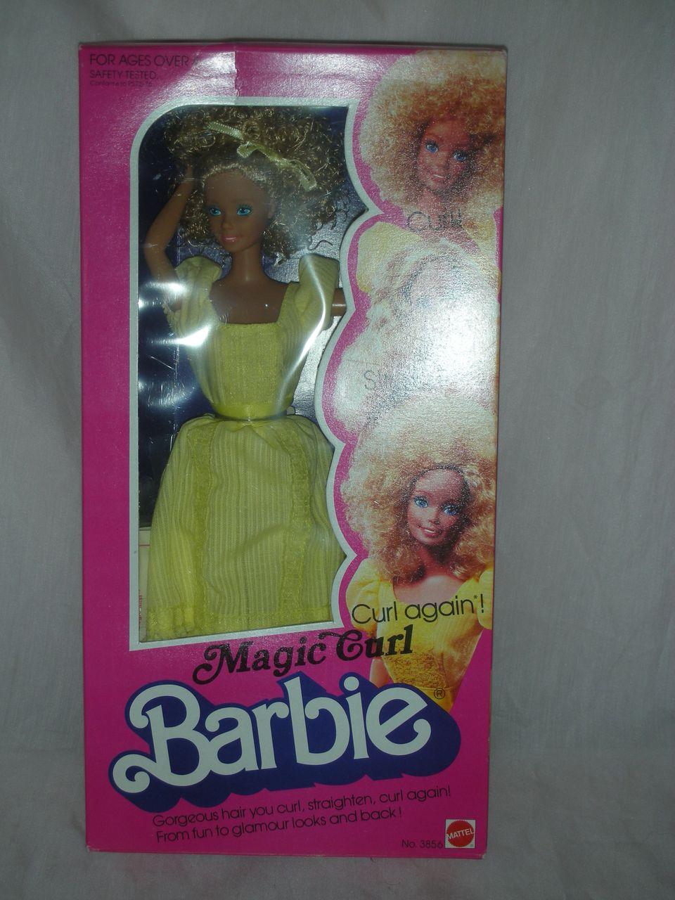 Vintage Superstar Magic Curl Barbie Doll NRFB