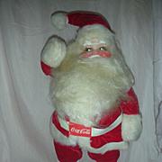 Vintage Harold Gayle Santa Claus Coca Cola Christmas Store Display Doll