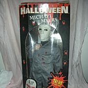 Vintage Halloween Micheal Myers Musical Halloween Movie Doll or Toy