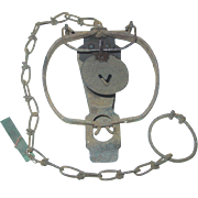 Victor Oneida No. 1 Jump Trap Single Under Spring Wire Dog Trigger Animal Fur Trapping
