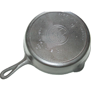 Griswold Erie Pa 710 M Skillet No. 9 Cast Iron Block Logo Fire Heat Ring Frying Pan