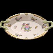 "Exquisite Herend porcelain basket ""Queen Victoria"", about 1960"