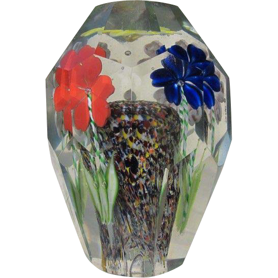 Antique paperweight, Bohemia ,19th century