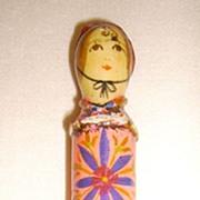 Gemma Taccogna Mexico Paper Mache Lipstick Holder