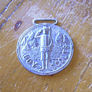 Vintage Boy Scout Metal Watch Fob