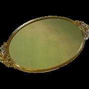 Vintage Mirrored Vanity Tray by Stylebuilt