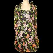 Vintage Mollie Parnis Boutique Organza Dress