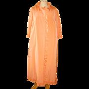 1960s Sybil Connolly Coral Silk Evening Jacket