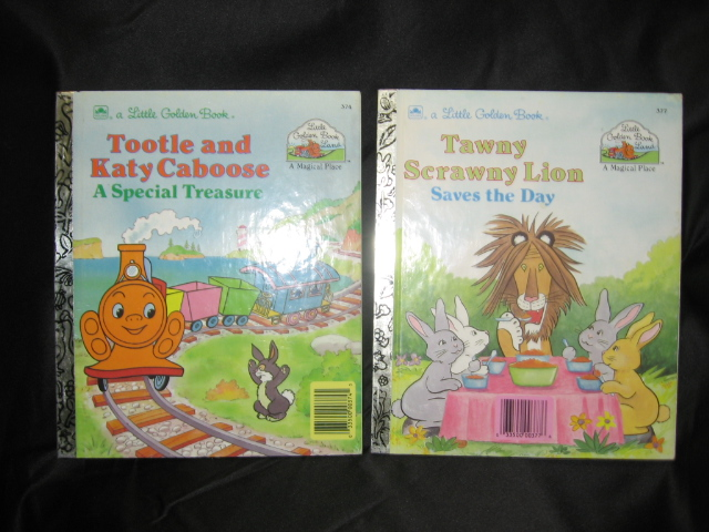 "Special ""Little Golden Book Land"" Golden Books Set of Two"