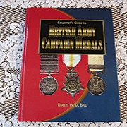 Collector's Guide to British Army Campaign Medals Hardcover Price Guide
