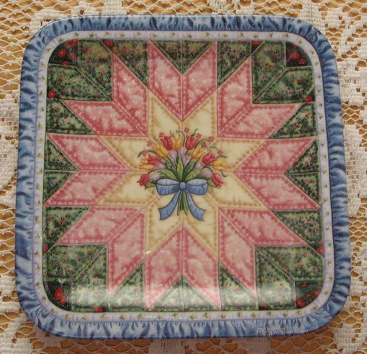 """Bradford Exchange Cherished Traditions """"The Star"""" Collector Plate"""