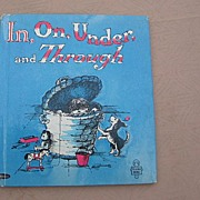 "Whitman Tell A Tale ""In, On, Under and Through"" First Edition"