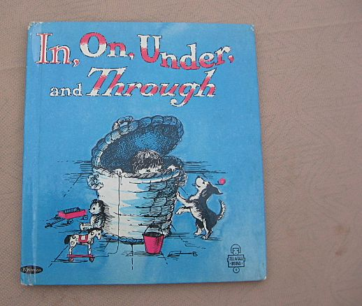 """Whitman Tell A Tale """"In, On, Under and Through"""" First Edition"""