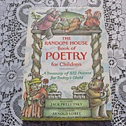 1983 The Random House Of Poetry For Children