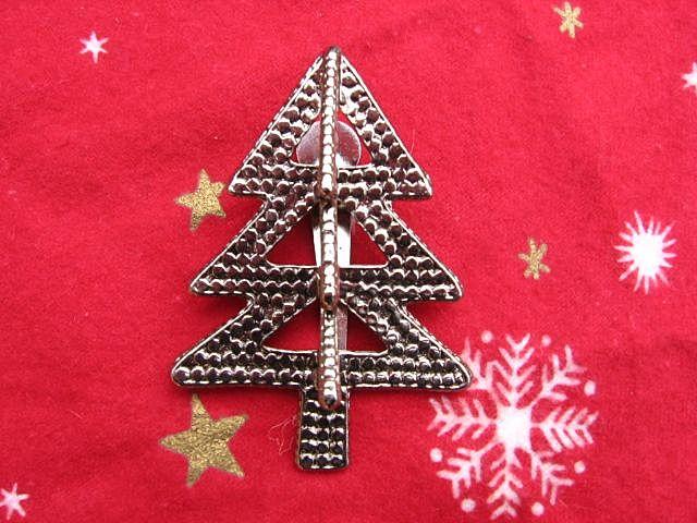 Designer John Hardy Christmas Tree Clip Pin