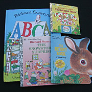 Richard Scarry Vintage Children Book Set