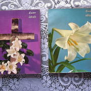 1950's Easter Ideals Publications Set of Two