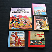"Disney ""Mickey's Circus Adventure"" Pop-up Book Set"