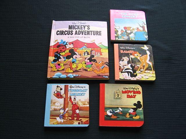"Disney ""Mickey's Circus Adventure"" Pop-up Book Set"