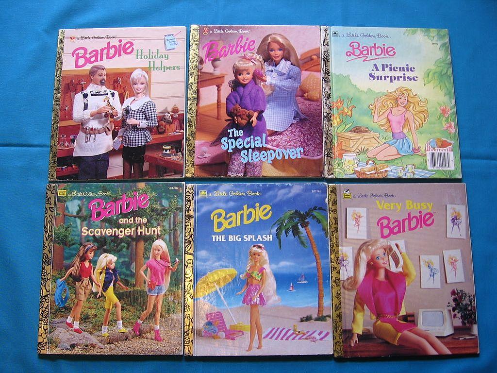 """""""Barbie"""" Little Golden Book Set"""