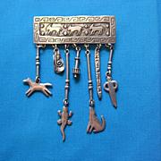 1988 Signed JJ Southwestern Pin