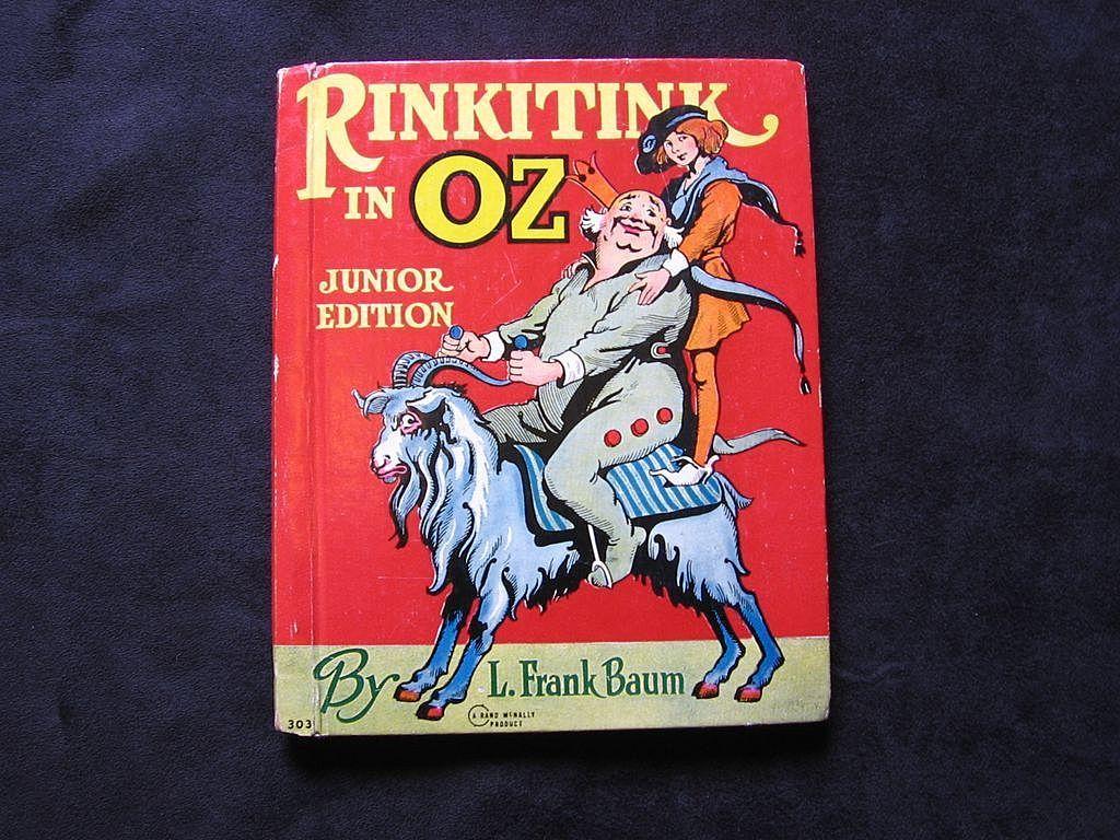 "1939 Frank Baum's ""Rinkitink in Oz"" Junior Rand Mcnally Book"