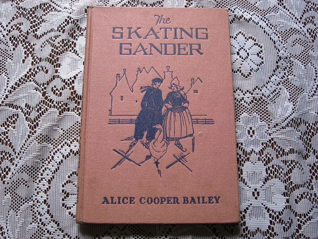 "1927 ""The Skating Gander"" Children Picture Book"