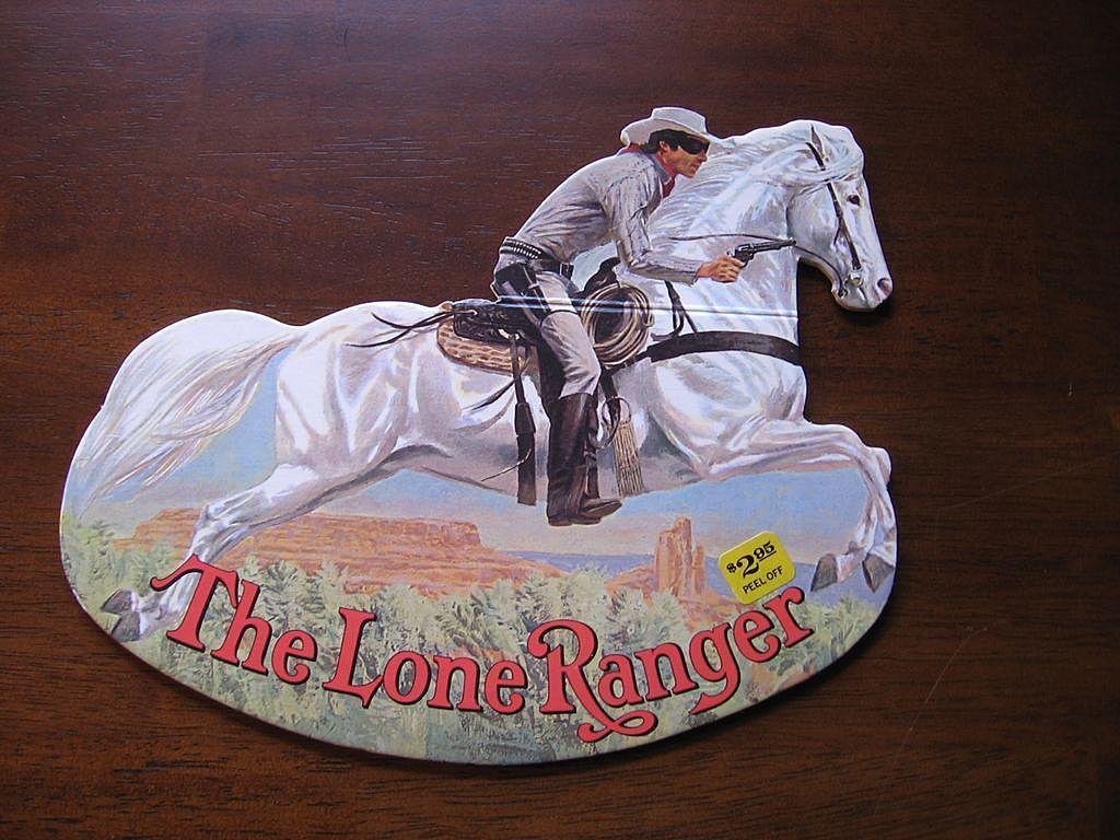 "1981 ""The Lone Ranger"" Rocking Books"