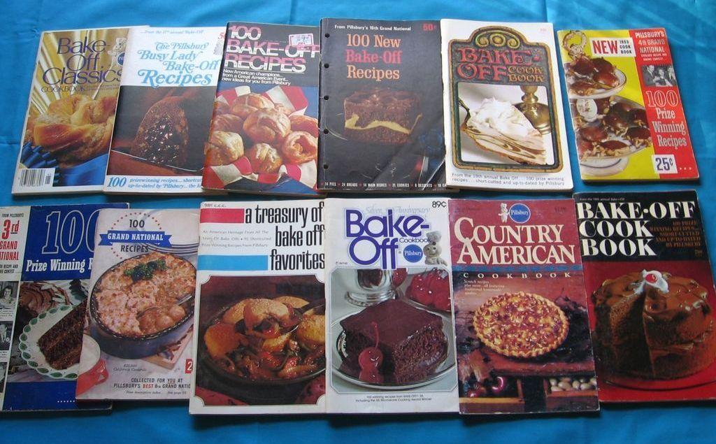 Pillsbury Cookbooks Set of Twelve