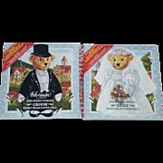 SALE Peck-Gandre Steiff Bears Bride and Groom Paper Doll Set