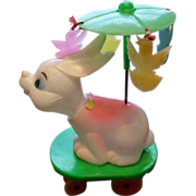 SALE Wind Up Easter Unlimited Nodding Bunny