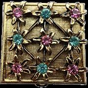 Rhinestone Pill Box