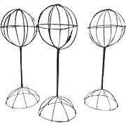 SALE Victorian Wire Hat Stands