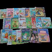 Walt Disney Little Golden Book Set