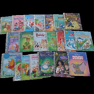SALE Walt Disney Little Golden Book Set