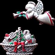 JJ Christmas Pin Set