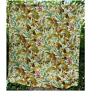 Palmier Print Cowtan and Tout Decorator Fabric Finished Panel